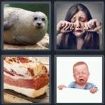 4 pics 1 word 7 letter answers blubber expocarfo Image collections