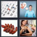 4 pics 1 word 4 letter answers date expocarfo Image collections