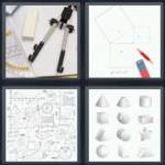 4 pics 1 word 8 letter answers geometry expocarfo Choice Image