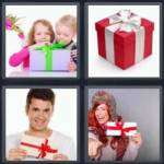 4 pics 1 word 4 letter answers gift expocarfo Choice Image