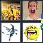 4 pics 1 word 9 letter answers grotesque expocarfo Gallery