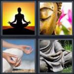 4 pics 1 word 8 letter answers meditate expocarfo Choice Image