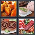 4 pics 1 word 7 letter answers sausage expocarfo Image collections