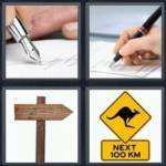 4 pics 1 word 4 letter answers sign expocarfo Gallery