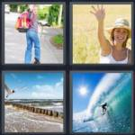 4 pics 1 word 4 letter answers wave expocarfo Gallery